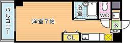 サニーベール前田[6階]の間取り