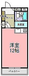 アットワークビル[607号室]の間取り