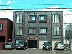 北海道札幌市東区北二十八条東17の賃貸アパートの外観