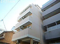 三重県松阪市京町一区の賃貸マンションの外観