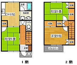 [一戸建] 静岡県三島市徳倉3丁目 の賃貸【/】の間取り