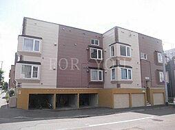 北海道札幌市北区北二十七条西2丁目の賃貸アパートの外観