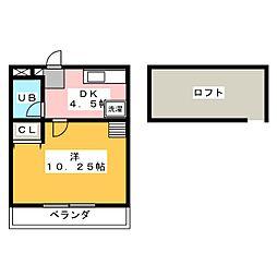 メゾン・ド・メープル[5階]の間取り