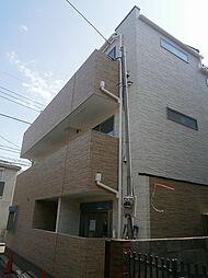 東京都立川市曙町1丁目の賃貸アパートの外観
