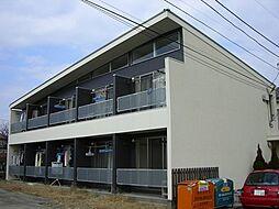 東京都府中市是政1丁目の賃貸アパートの外観