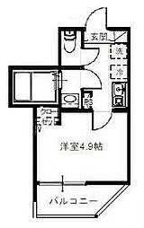 埼玉新都市交通 鉄道博物館(大成)駅 徒歩8分の賃貸アパート 1階1Kの間取り