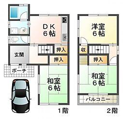 [一戸建] 兵庫県神戸市垂水区舞子坂3丁目 の賃貸【/】の間取り
