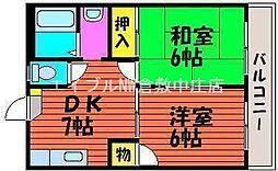 Pure・Life−Kume[1階]の間取り
