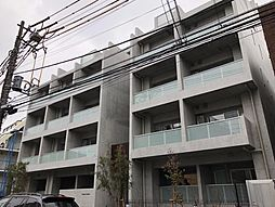 東京都港区元麻布3丁目の賃貸マンションの外観