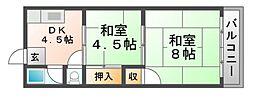 清川マンション[2階]の間取り