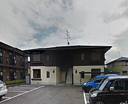 京都府京都市左京区岩倉南河原町の賃貸アパートの外観