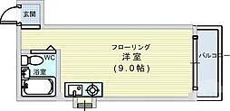 大国町駅 4.7万円