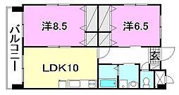 M3マンション[701 号室号室]の間取り