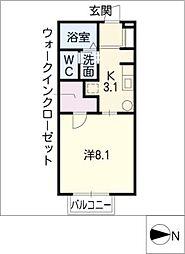 Liberta松本[1階]の間取り
