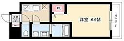 S-RESIDENCE名駅 4階1Kの間取り