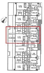 Salle de Verdure(セルデベルデュール)[3階]の間取り