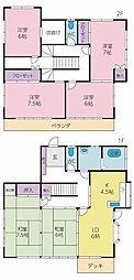 [一戸建] 山梨県甲府市西田町 の賃貸【/】の間取り