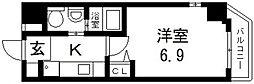 M'プラザ小阪駅前[507号室号室]の間取り