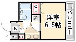 ZONE 1/f Part1[304号室]の間取り