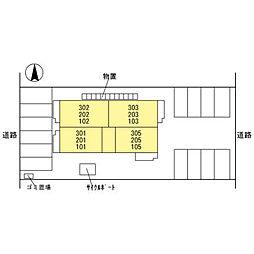 仮)D-room本町[2階]の外観