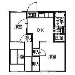 グリーンハイツ宮田[2階]の間取り