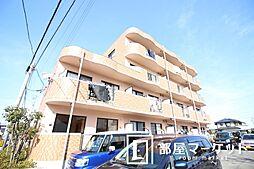 愛知県豊田市荒井町下原の賃貸マンションの外観