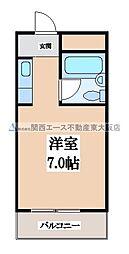 枚岡CTヒルズ[4階]の間取り