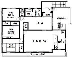 [一戸建] 東京都八王子市上野町 の賃貸【東京都 / 八王子市】の間取り