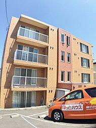 北海道札幌市手稲区富丘三条3丁目の賃貸マンションの外観