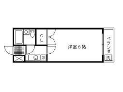 レ・タン・ドゥ・ラ・メール・CK 5[5階]の間取り