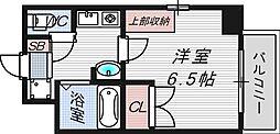 ラナップスクエア天満プライム[9階]の間取り