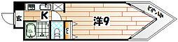 K−2西小倉ビル[6階]の間取り