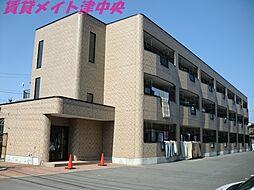三重県津市八町2の賃貸マンションの外観