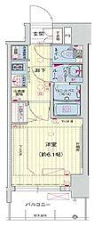 プレサンス THE MOTOYAMA[2階]の間取り
