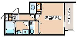 兵庫県神戸市中央区八幡通3丁目の賃貸マンションの間取り