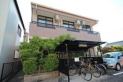 愛知県名古屋市中村区烏森町6の賃貸アパートの外観