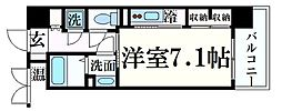 S-FORT新大阪ravir 9階1Kの間取り