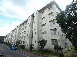 公社清和台住宅団地12号棟[105号室]の外観