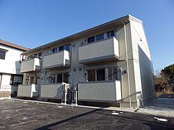 三重県四日市市日永西2丁目の賃貸アパートの外観