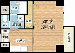 ライオンズマンション東本町第3[4階]の間取り