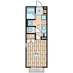 メゾン・ドゥ文庫[2階]の間取り