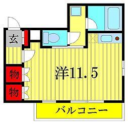 泉町ビル[2階]の間取り