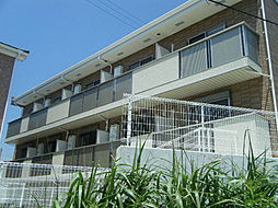 愛知県知多郡阿久比町大字植大字植中根の賃貸アパートの外観