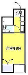 ベルトピア新松戸[205号室]の間取り