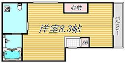 東京都江東区大島5丁目の賃貸アパートの間取り