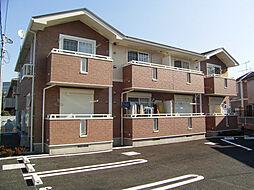 東京都日野市旭が丘6丁目の賃貸アパートの外観
