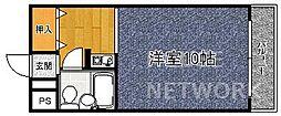 KAWABATAハイツ(川端ハイツ)[405号室号室]の間取り