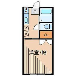 エトワール鶴川[2階]の間取り