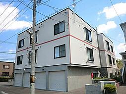 北海道札幌市東区北三十八条東17丁目の賃貸アパートの外観