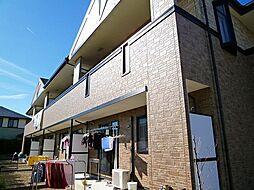 愛知県西尾市今川町石橋の賃貸アパートの外観